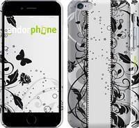"""Чехол на iPhone 6 Цветочный узор 3 """"1582c-45"""""""