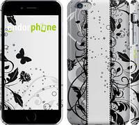 """Чехол на iPhone 6 Plus Цветочный узор 3 """"1582c-48"""""""