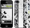 """Чехол на iPhone 5 Цветочный узор 3 """"1582c-18"""""""