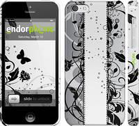 """Чехол на iPhone 5c Цветочный узор 3 """"1582c-23"""""""