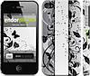 """Чехол на iPhone 4 Цветочный узор 3 """"1582c-15"""""""