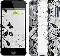 "Чехол на iPod Touch 5 Цветочный узор 3 ""1582c-35"""