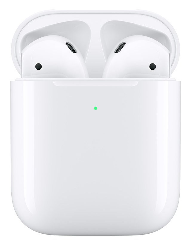 Наушники AirPro TWS 2 Series JKR with PopUp + wireless charger White
