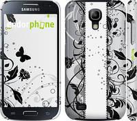 "Чехол на Samsung Galaxy S4 mini Цветочный узор 3 ""1582c-32"""