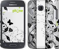 """Чехол на Samsung Galaxy Ace 3 Duos s7272 Цветочный узор 3 """"1582c-33"""""""