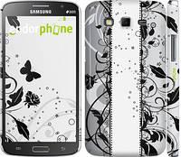 """Чехол на Samsung Galaxy Grand 2 G7102 Цветочный узор 3 """"1582c-41"""""""