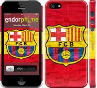 """Чехол на iPhone 5 ФК Барселона 1 """"2301c-18"""""""