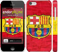 """Чехол на iPhone 5c ФК Барселона 1 """"2301c-23"""""""