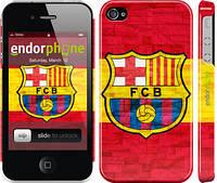 """Чехол на iPhone 4 ФК Барселона 1 """"2301c-15"""""""