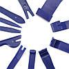 Набор съемников обшивки авто 11 предметов (синие), фото 5