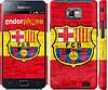 "Чехол на Samsung Galaxy S2 i9100 ФК Барселона 1 ""2301c-14"""