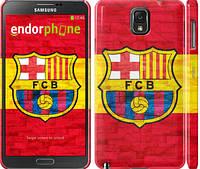 "Чехол на Samsung Galaxy Note 3 N9000 ФК Барселона 1 ""2301c-29"""