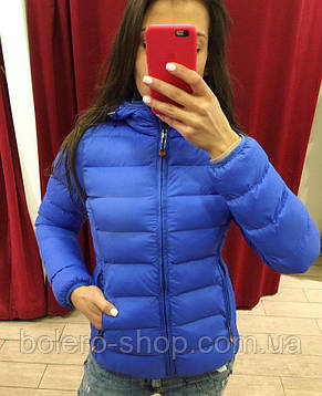 Куртка женская синяя, фото 3