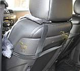 Автомобільний чохол з овчини, стрижений, фото 4