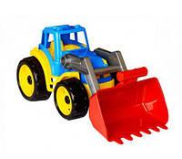 Транспортна іграшка Трактор ТехноК синий 1721  sco