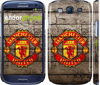 "Чехол на Samsung Galaxy S3 Duos I9300i Манчестер Юнайтед 2 ""345c-50"""