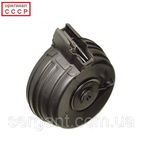 Магазин 7.62х39 барабанный РПК (улитка, бубен) на 75 патронов оригинальный новый для АК47, АКМ (оригинал СССР)