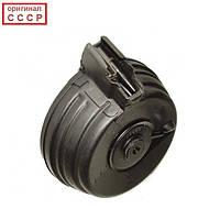 Магазин 7.62х39 барабанный РПК (улитка, бубен) на 75 патронов оригинальный новый для АК47, АКМ (оригинал СССР), фото 1