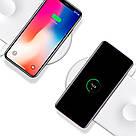 Беспроводное зарядное устройство Baseus Smart 2 in 1 для Apple iPhone и Smart Watch WX2IN1P20-02, фото 7