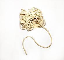 Фитиль свечной плетеный диаметр 3 мм цена за 1 метр