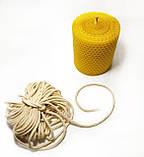 Гніт свічковий плетений діаметр 3 мм ціна за 1 метр, фото 2