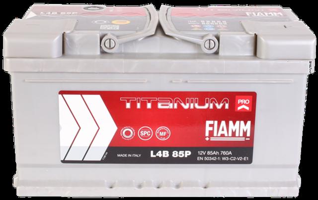 Купить автомобильный аккумулятор FIAMM Titanium Pro 85 A/h в 12-v.com.ua