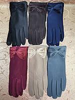 ЭЛАСТИК Перчатки с сенсором для работы на телефоне плоншете/Сенсорны женские перчатки ANJELA оптом, фото 1