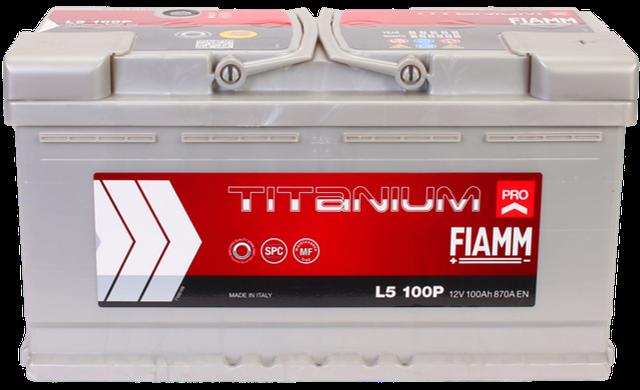 Купить автомобильный аккумулятор FIAMM Titanium Pro в 12-v.com.ua