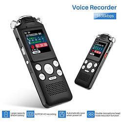 Профессиональный цифровой диктофон SP1333 (Noyazu V59), 3 микрофона, 8 Гб.
