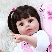 Кукла реборн 45 см полностью виниловая девочка Эдита