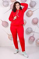 Спортивный костюм женский теплый БАТАЛ 48-52р цвета в ассортименте