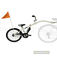 Прицеп велосипедная Weeride Co-pilot белый