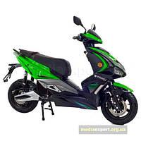 Скутер электрический Torq E-max зелено-черный