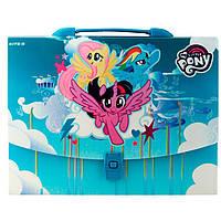 Портфель А4 Kite мод 209 My Little Pony пластик с замком LP19-209