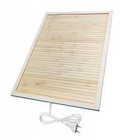 Бамбуковый коврик с подогревом Trio 42*34 см обогреватель для ног 50 Вт