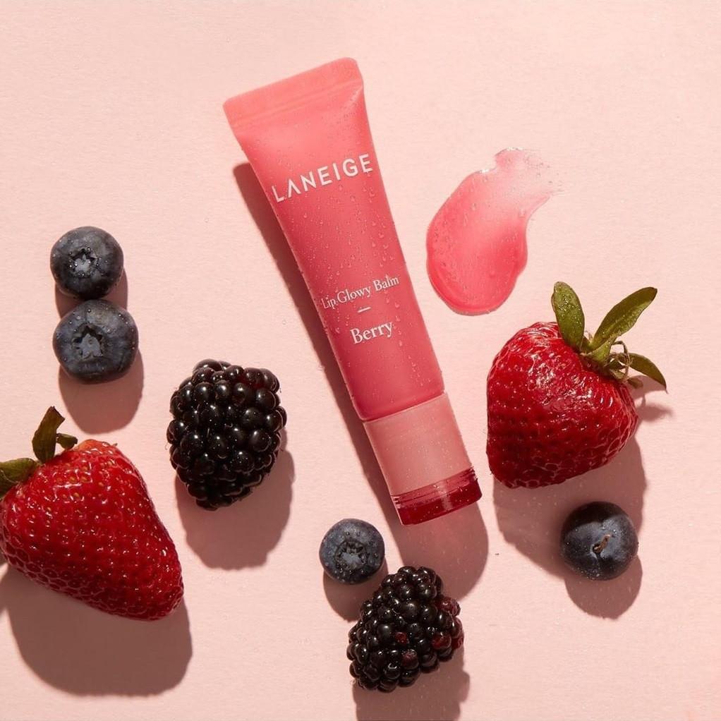 Увлажняющий бальзам для губ с ягодами Laneige Berry Lip Glowy Balm 10 гр (ягоды)