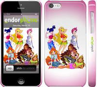 """Чехол на iPhone 5c Шестеро Winks """"194c-23"""""""