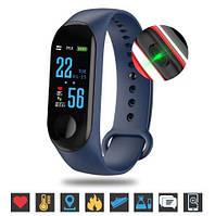 Фитнес-браслет Smart Bracelet M3 Plus (blue) - Защита IP67