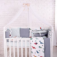 Дитяча постіль Маленька Соня Baby Design Dino
