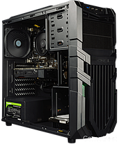 Raidmax Vortex V5 405WB Black / Intel Core i3-9100 (4 ядра по 3.6 - 4.2GHz) / 16 GB DDR4 / 240 GB SSD+1000 GB HDD / 500W / GeForce GTX 1660 6 GB, фото 3