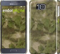 "Чехол на Samsung Galaxy Alpha G850F Камуфляж a-tacs fg ""2096c-65"""