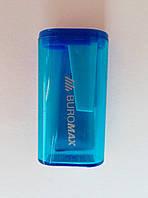 Точилка пластиковая на 1 лезвие с контейнером