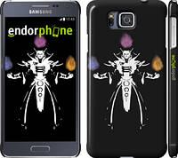 "Чехол на Samsung Galaxy Alpha G850F Dota 2. Invoker ""984c-65"""