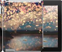 "Чехол на iPad 2/3/4 Фонарики ""2724c-25"""