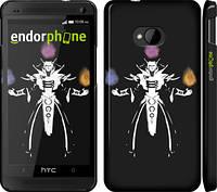 "Чехол на HTC One M7 Dota 2. Invoker ""984c-36"""