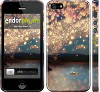 """Чехол на iPhone 5s Фонарики """"2724c-21"""""""