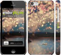 """Чехол на iPhone 5c Фонарики """"2724c-23"""""""