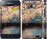 "Чехол на Samsung Galaxy S2 Plus i9105 Фонарики ""2724c-71"""