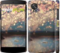 """Чехол на LG Nexus 5 Фонарики """"2724c-57"""""""
