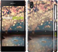 "Чехол на Sony Xperia Z2 D6502/D6503 Фонарики ""2724c-43"""